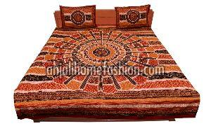 Bagru Print Bed Sheet 01