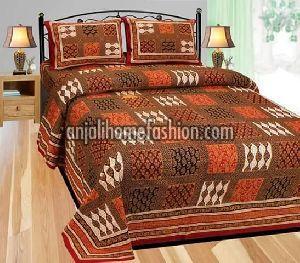 Bagru Print Bed Sheet 03