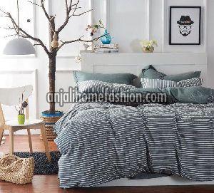 Check & Stripe Bed Sheet 03