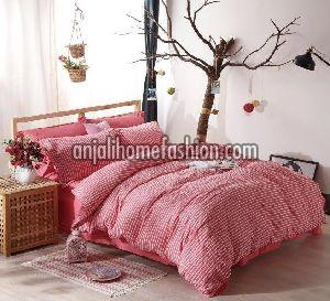 Check & Stripe Bed Sheet 04