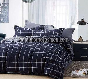 Check & Stripe Bed Sheet 05