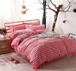 Check & Stripe Bed Sheet 07