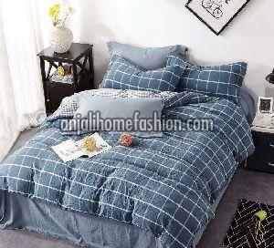 Check & Stripe Bed Sheet 09