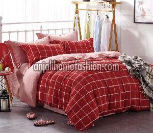 Check & Stripe Bed Sheet 10