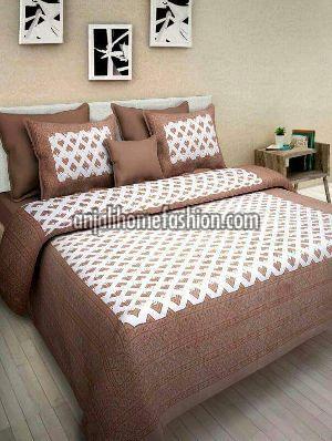 Sanganeri Print Bed Sheet 04