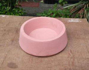 Concrete Dog Bowl