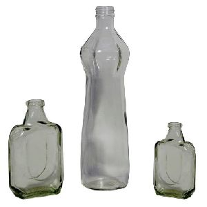 Hair Oil Glass Bottle
