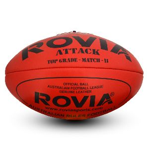 AFL Ball or Australian Rule FootBall Attack