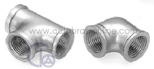Nickel Plated Forged Plumbing Elbow