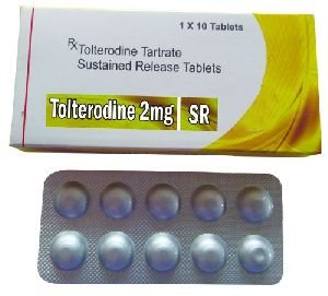 Tolterodine 2mg Sustain Release Tablet