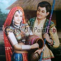 Rajasthani Oil Paintings