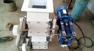 Motorized Double Flap Valve