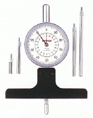 Peacock Dial Depth Gauge