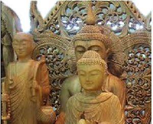 Sandalwood Statues