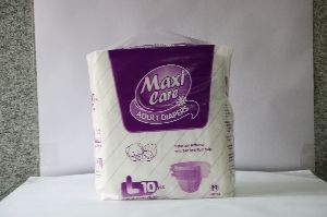 Maxi Care Adult Diapers Large