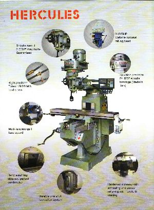 Vertical Turret Milling Machine (LTM-2SS)