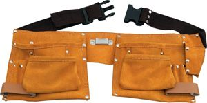 Pocket Split Leather Carpenter Apron