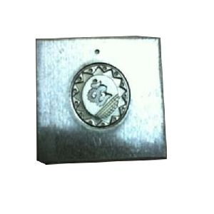 Square Om Coin Die 03
