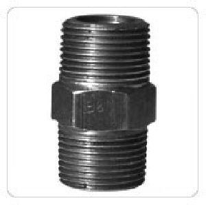 Mild Steel Hex Nipple