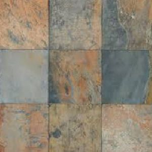 Rustic Multi Slate Floor Tiles