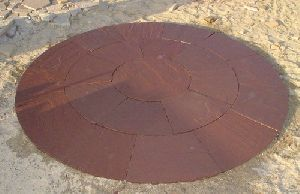 Sandstone Circle Tiles
