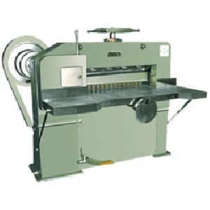 High Speed Semiautomatic Paper Cutting Machine