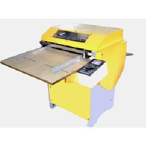 Rotary Sticker Half Cutting, Creasing cum Perforating Machine