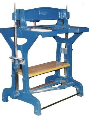 Foot Operated File Making Machine