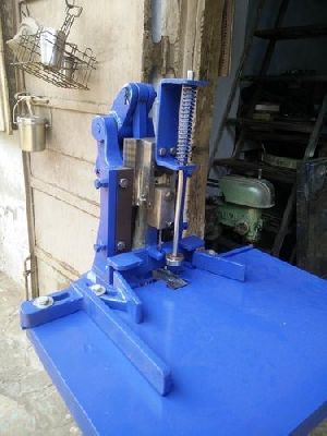 Treadle Operated Punching Machine 01