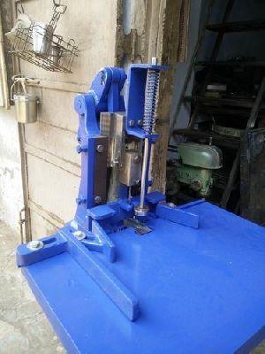 Treadle Operated Punching Machine