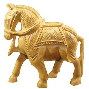 CARVING HORSE