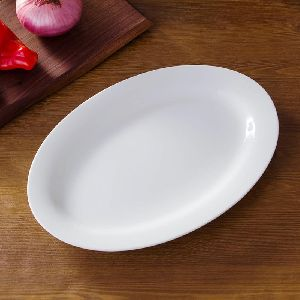 Bone China Oval Fish Plate