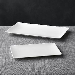 Bone China Rectangular Platters