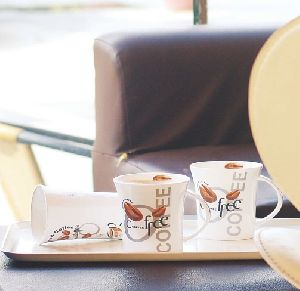 Bone China Tea & Coffee Cups Set