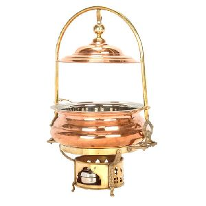 Copper Chafing Dish 16