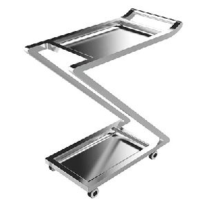 Stainless Steel Multi Utility Trolley 02