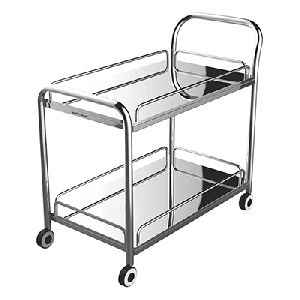 Stainless Steel Multi Utility Trolley