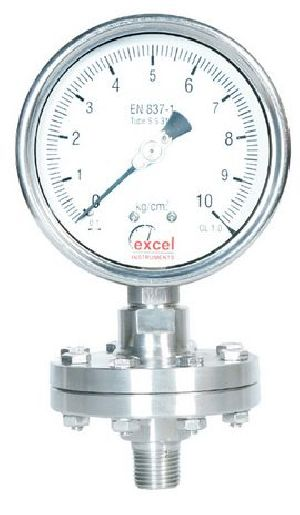 DS1 Diaphragm Sealed Type Pressure Gauges