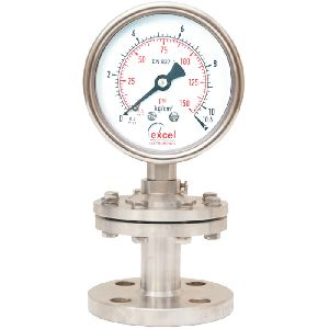 DS3 Diaphragm Sealed Type Pressure Gauges