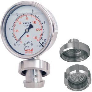 DSSMS Diaphragm Sealed Type Pressure Gauges