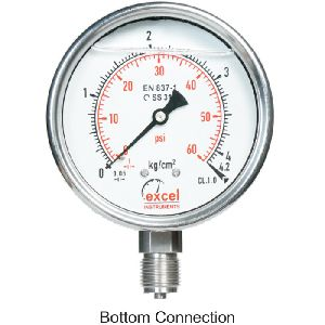 ESW Bourdon Type Pressure Gauges