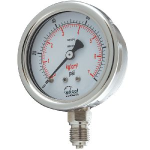 WPT Bourdon Type Pressure Gauges