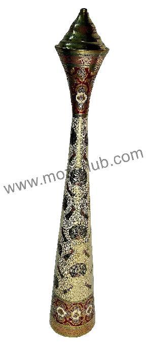 Brass Side Pillar Lamps