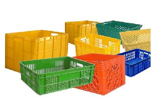 Fruit & Vegetable Plastic Crates