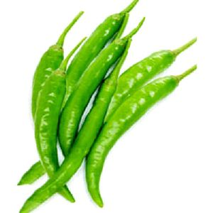 Ripped Green Chilli