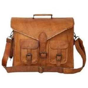 MESS126 - Leather Messenger Bags