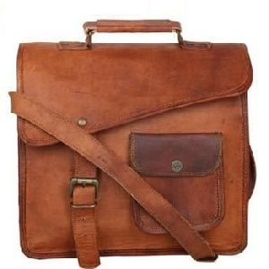 MESS129 - Leather Messenger Bags
