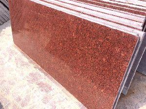 Imperial Red Granite slab