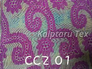 CCZ 01 Chanderi Jacquard Fabric