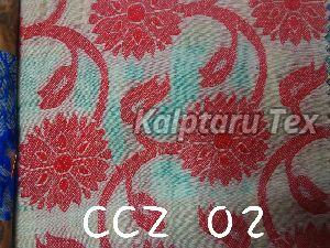 CCZ 02 Chanderi Jacquard Fabric